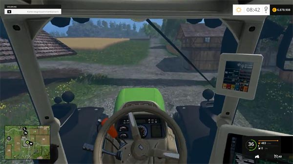 Better steering with the keyboard
