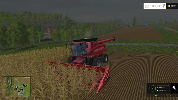 Case IH Axial Flow 9230 Twin Wheels edition