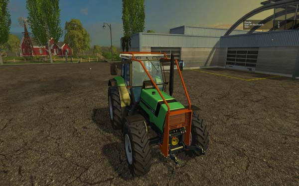 Forestry Deutz Agro Star 661