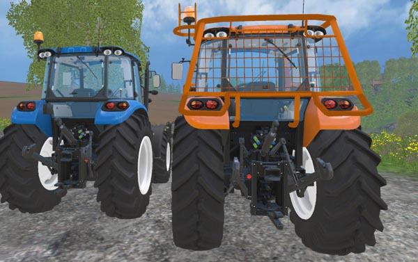 NH T 4.75 Forestry