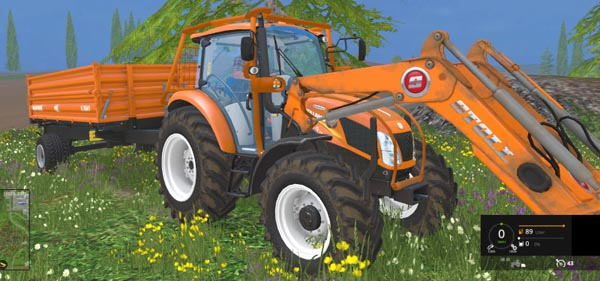 NH T 4.75 Forestry v 1.0