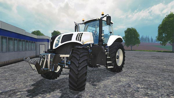 New Holland T8 435 White special paint