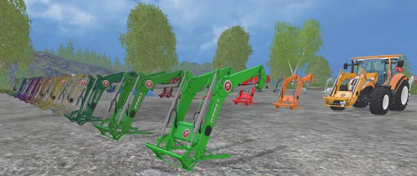 Stoll front loader