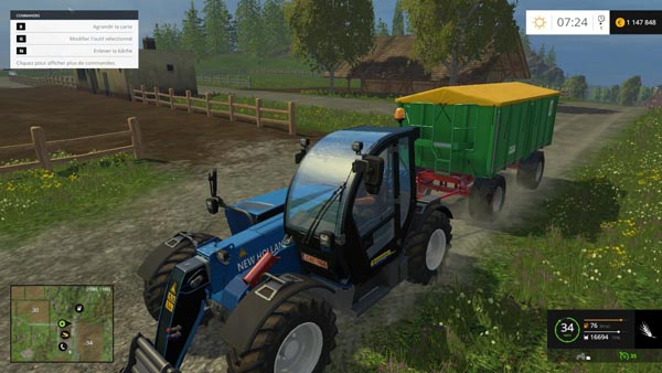 New Holland lm 9.35 beta